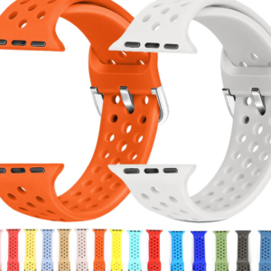 For apple watch strap band 4 3 2 1 Band 44/40mm silicone bracelet for iwatch series 4 3 2 1 38/42mm wristband accessory